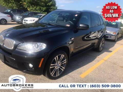 2013 BMW X5 for sale at Auto Brokers Unlimited in Derry NH