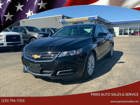2019 Chevrolet Impala for sale at Paris Auto Sales & Service in Big Rapids MI