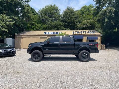 2013 Ford F-150 for sale at Mad Motors LLC in Gainesville GA