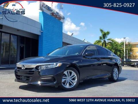 2020 Honda Accord for sale at Tech Auto Sales in Hialeah FL