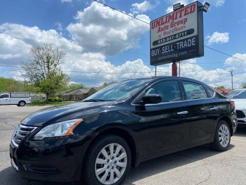 2014 Nissan Sentra for sale at Unlimited Auto Group in West Chester OH