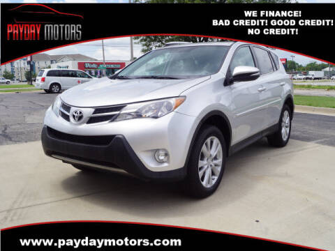 2014 Toyota RAV4 for sale at Payday Motors in Wichita And Topeka KS