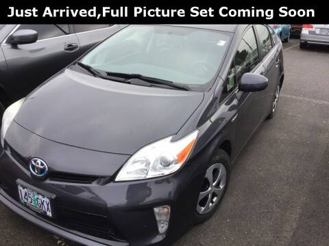 2013 Toyota Prius for sale at Royal Moore Custom Finance in Hillsboro OR