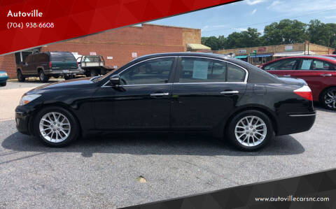 2011 Hyundai Genesis for sale at Autoville in Kannapolis NC