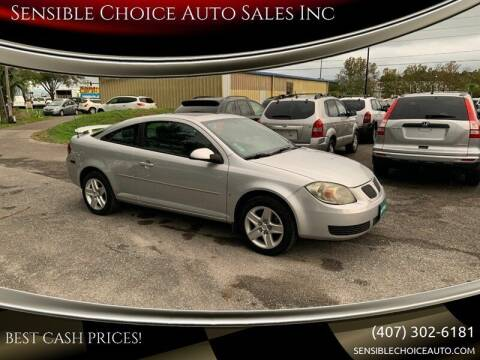 2007 Pontiac G5 for sale at Sensible Choice Auto Sales, Inc. in Longwood FL