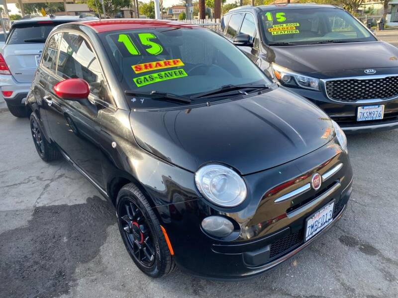 2015 FIAT 500 for sale at CAR GENERATION CENTER, INC. in Los Angeles CA
