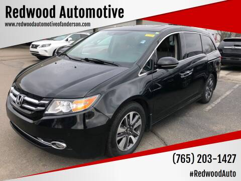 2014 Honda Odyssey for sale at Redwood Automotive in Anderson IN