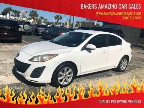 2011 Mazda MAZDA3 for sale at Bakers Amazing Car Sales in Jacksonville FL