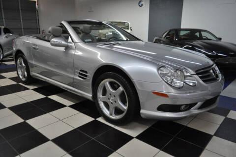 2003 Mercedes-Benz SL-Class for sale at Podium Auto Sales Inc in Pompano Beach FL