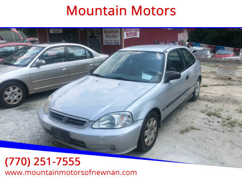2000 Honda Civic for sale at Mountain Motors in Newnan GA