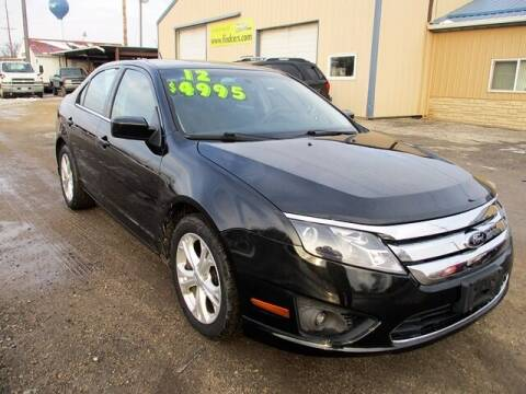 2012 Ford Fusion for sale at Northeast Iowa Auto Sales in Hazleton IA