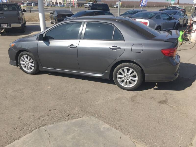 2010 Toyota Corolla for sale at CONTINENTAL AUTO EXCHANGE in Lemoore CA