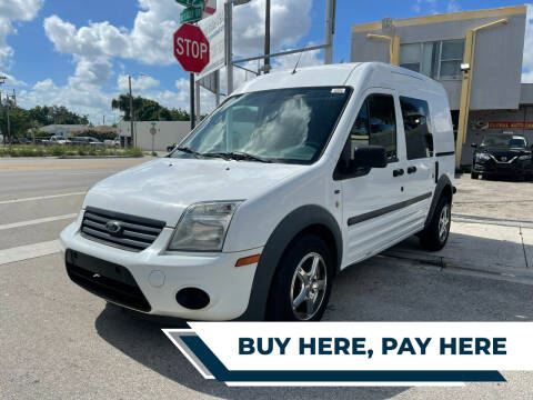 2011 Ford Transit Connect for sale at Global Auto Sales USA in Miami FL