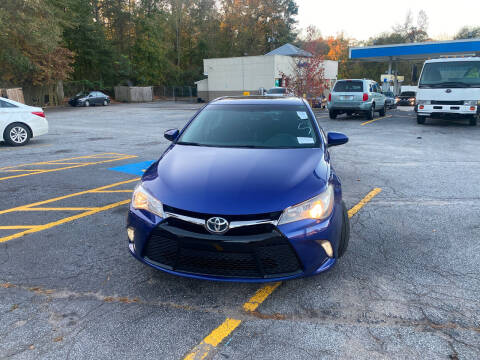 2015 Toyota Camry for sale at BRAVA AUTO BROKERS LLC in Clarkston GA