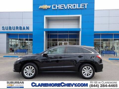 2017 Acura RDX for sale at Suburban Chevrolet in Claremore OK