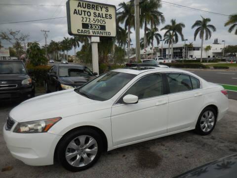 2010 Honda Accord for sale at Aubrey's Auto Sales in Delray Beach FL