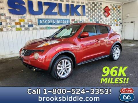 2013 Nissan JUKE for sale at BROOKS BIDDLE AUTOMOTIVE in Bothell WA