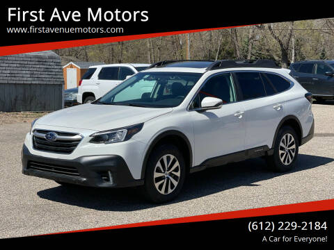 2021 Subaru Outback for sale at First Ave Motors in Shakopee MN