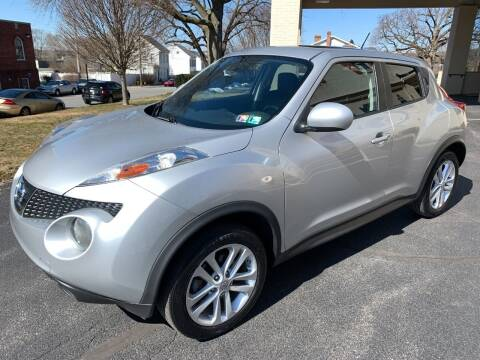 2013 Nissan JUKE for sale at On The Circuit Cars & Trucks in York PA