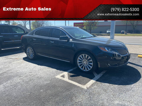 2015 Lincoln MKS for sale at Extreme Auto Sales in Bryan TX