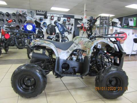 2020 TAO TAO ATV 125 for sale at Trinity Cycles in Burlington NC