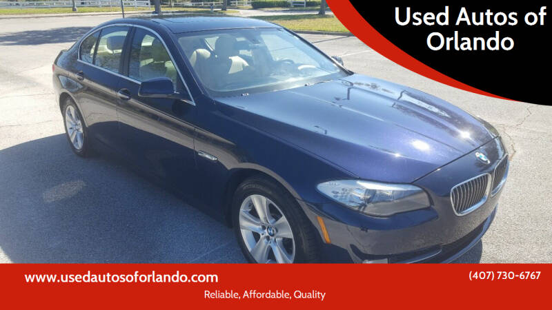2013 BMW 5 Series for sale at Used Autos of Orlando in Orlando FL