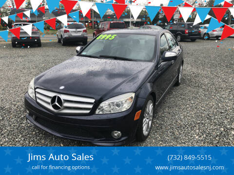 2008 Mercedes-Benz C-Class for sale at Jims Auto Sales in Lakehurst NJ