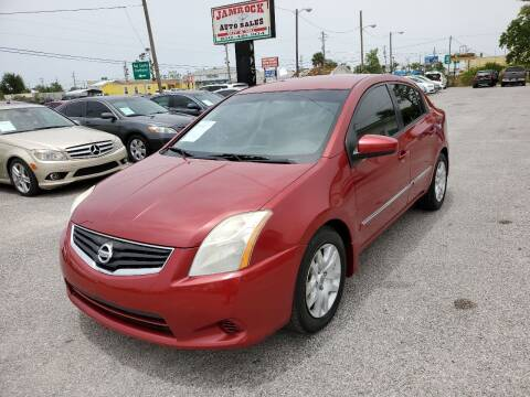 2012 Nissan Sentra for sale at Jamrock Auto Sales of Panama City in Panama City FL