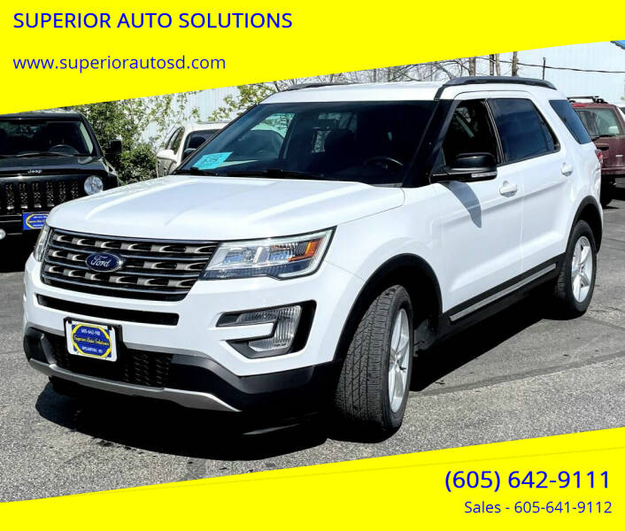 2017 Ford Explorer for sale at SUPERIOR AUTO SOLUTIONS in Spearfish SD