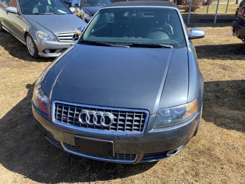 2005 Audi S4 for sale at Richard C Peck Auto Sales in Wellsville NY