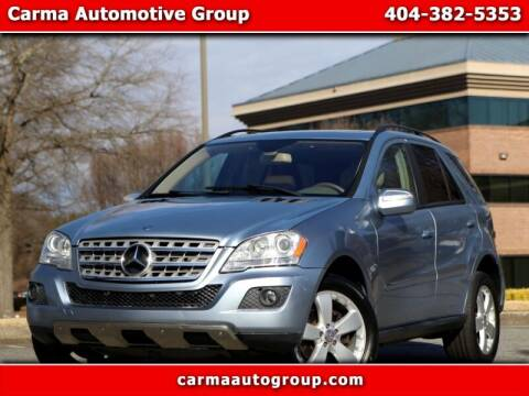 2009 Mercedes-Benz M-Class for sale at Carma Auto Group in Duluth GA