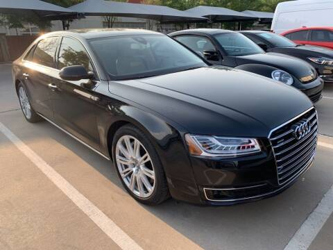 2015 Audi A8 L for sale at Excellence Auto Direct in Euless TX