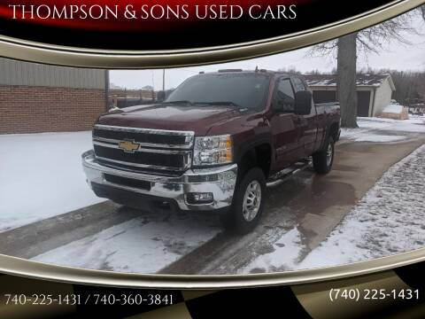 2013 Chevrolet Silverado 2500HD for sale at THOMPSON & SONS USED CARS in Marion OH