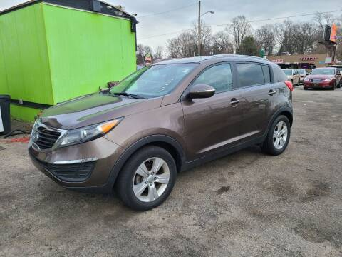 2011 Kia Sportage for sale at Johnny's Motor Cars in Toledo OH