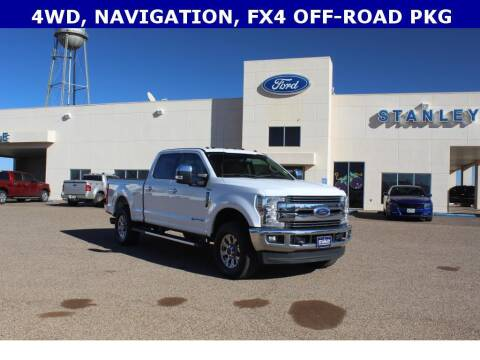 2018 Ford F-250 Super Duty for sale at STANLEY FORD ANDREWS in Andrews TX