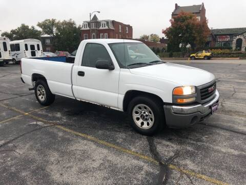 2005 GMC Sierra 1500 for sale at DC Auto Sales Inc in Saint Louis MO