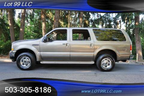2003 Ford Excursion for sale at LOT 99 LLC in Milwaukie OR