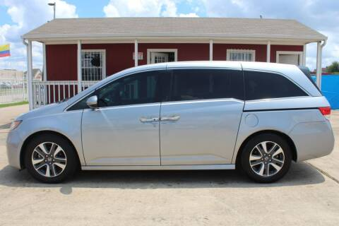 2016 Honda Odyssey for sale at AMT AUTO SALES LLC in Houston TX