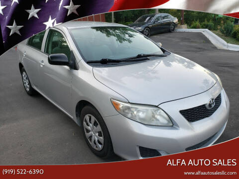 2010 Toyota Corolla for sale at Alfa Auto Sales in Raleigh NC