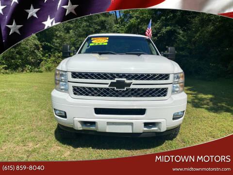 2012 Chevrolet Silverado 2500HD for sale at Midtown Motors in Greenbrier TN