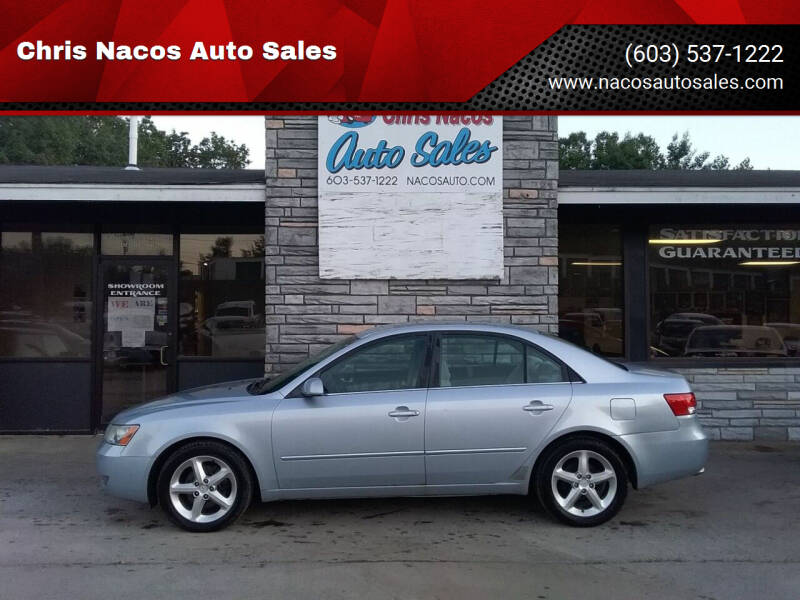 2007 Hyundai Sonata for sale at Chris Nacos Auto Sales in Derry NH