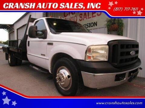 2006 Ford F-350 Super Duty for sale at CRANSH AUTO SALES, INC in Arlington TX