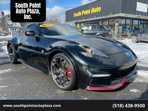 2016 Nissan 370Z for sale at South Point Auto Plaza, Inc. in Albany NY