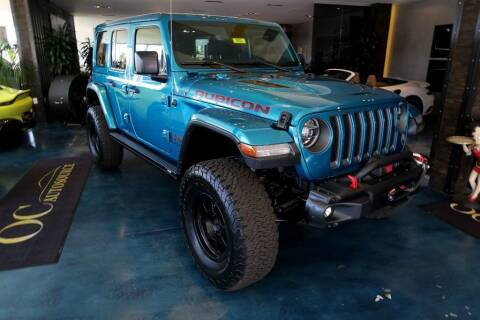2020 Jeep Wrangler Unlimited for sale at OC Autosource in Costa Mesa CA