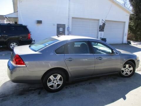 2006 Chevrolet Impala for sale at ROUTE 119 AUTO SALES & SVC in Homer City PA