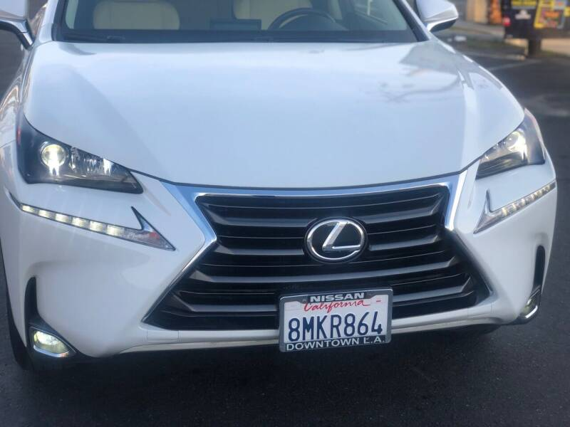 2016 Lexus NX 200t for sale at Bell Auto Inc in Long Beach CA