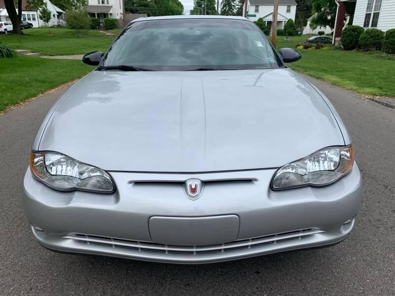 2001 Chevrolet Monte Carlo for sale at Via Roma Auto Sales in Columbus OH