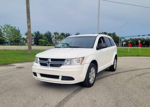 2016 Dodge Journey for sale at FLORIDA USED CARS INC in Fort Myers FL
