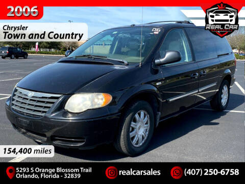 2006 Chrysler Town and Country for sale at Real Car Sales in Orlando FL