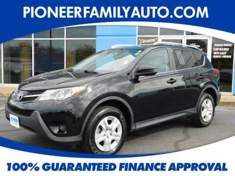 2015 Toyota RAV4 for sale at Pioneer Family Preowned Autos in Williamstown WV